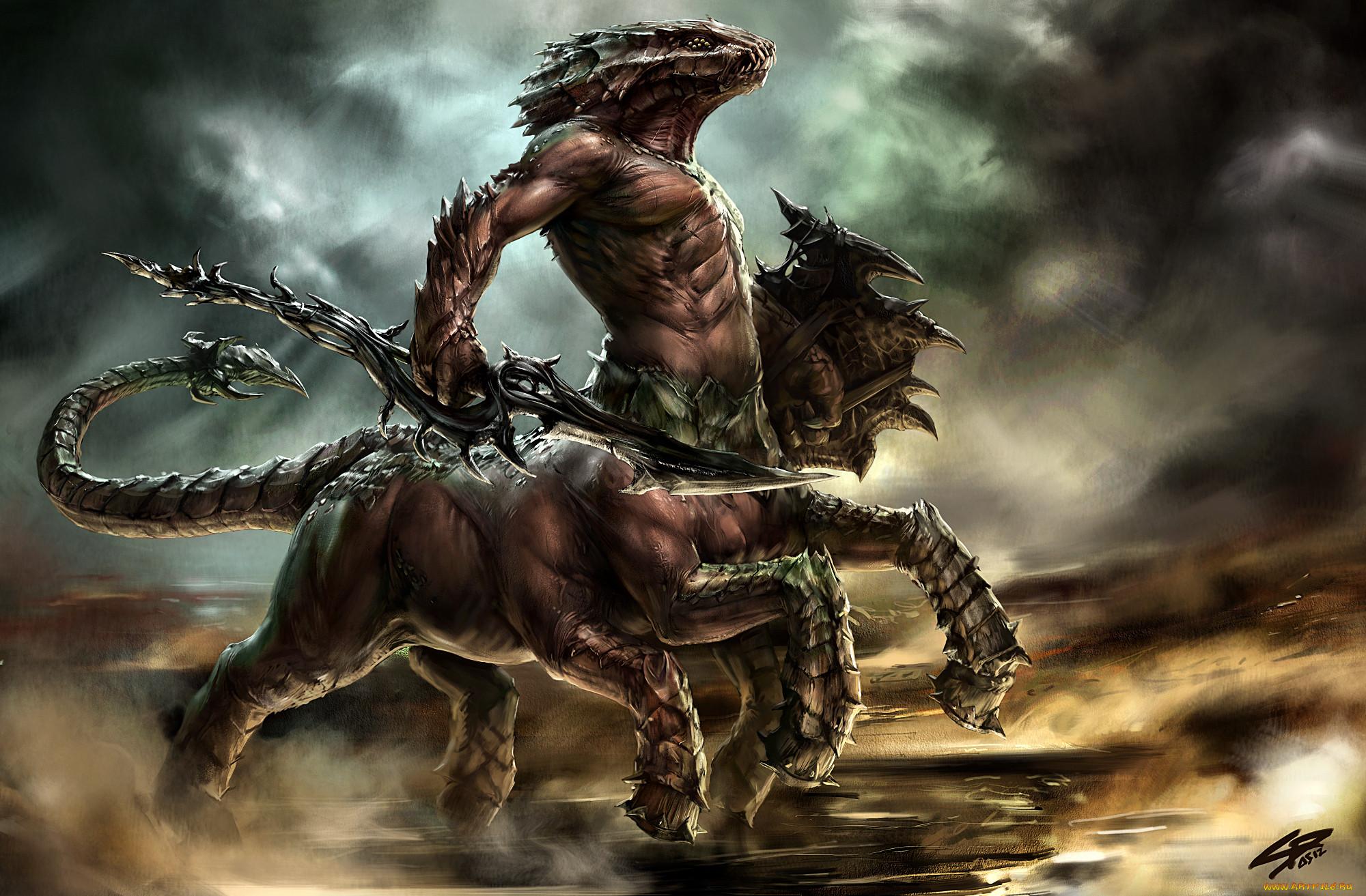 Картинки с монстрами чудовищами